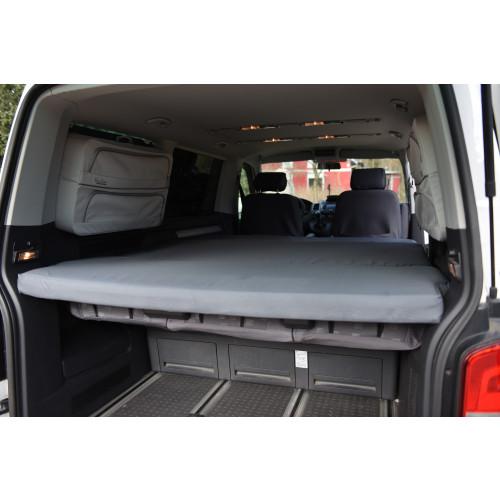 Viscoelastische Matratze für VW T5 / T6 Klappmatratze inkl. Bag
