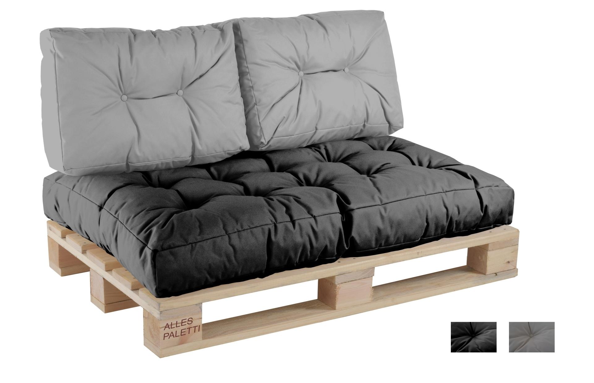 Matratzen sofa  Euro-Palettenkissen Indoor/Outdoor Vita-line